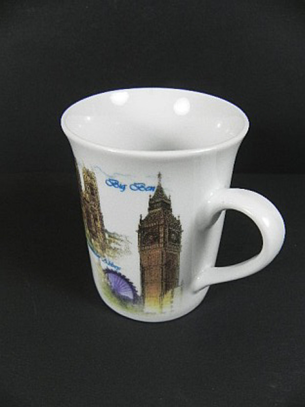 london tasse kaffeetasse kaffeebecher tower bridge big ben eye buckingham palace ebay. Black Bedroom Furniture Sets. Home Design Ideas