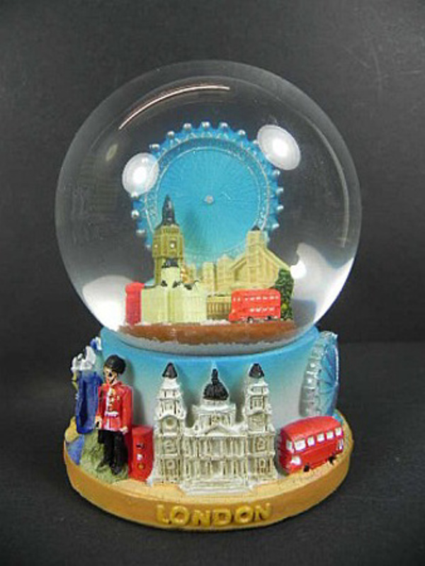 london eye boule de neige 10 5 cm tower bridge big ben buckingham palace. Black Bedroom Furniture Sets. Home Design Ideas