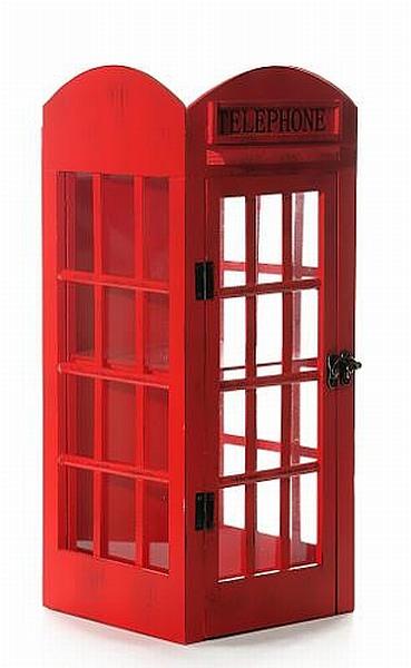 london telefonzelle cd st nder holz glas 45 cm neu ebay
