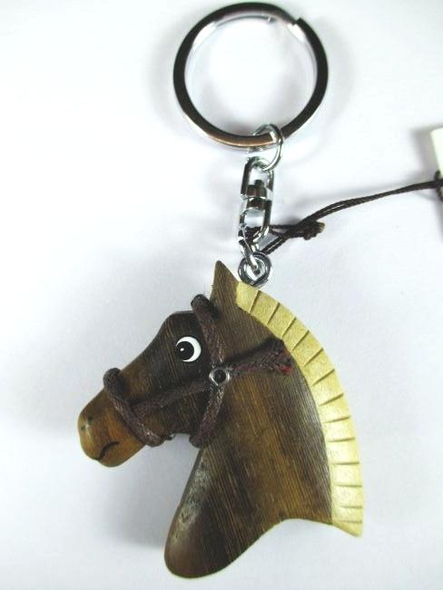 cheval t te de cheval bois porte cl s porte cl souvenir porte cl neuf ebay. Black Bedroom Furniture Sets. Home Design Ideas