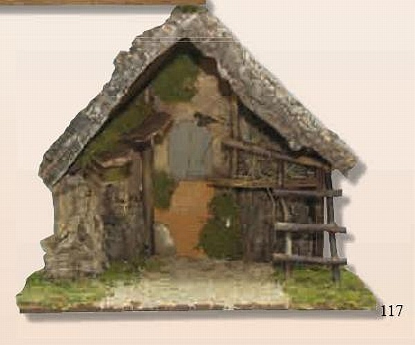 KRIPPENSTALL-Weihnachten-Krippe-handmade-Kollektion-Made-in-Italy-52-cm-NEU