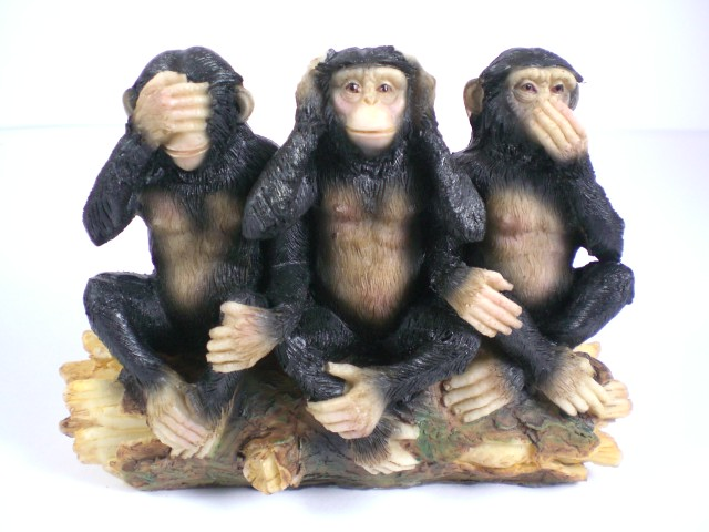 singe chimpanz 3 st ck singes de indienne sagesse 13 cm polyr sine figurine. Black Bedroom Furniture Sets. Home Design Ideas
