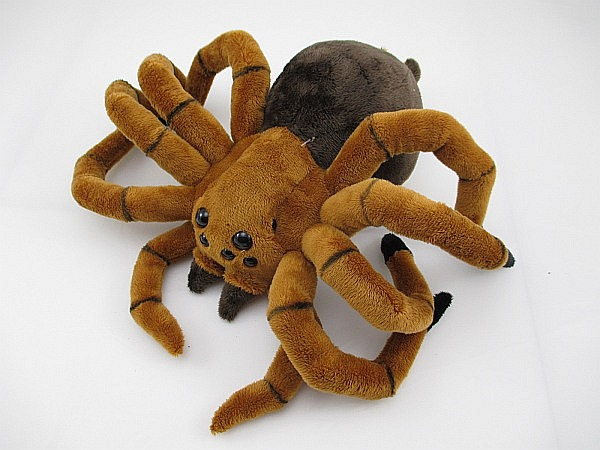 Spider Tarantula Plush Animal,11.8in,New,Spider Animal