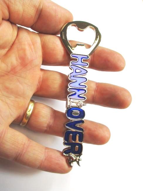 Hannover flaschen ffner blau magnet bottle opener souvenir for Souvenir hannover