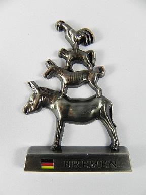 magnet bremen souvenir deutschland aus metall 6cm germany deutschland ebay. Black Bedroom Furniture Sets. Home Design Ideas