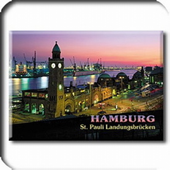 hamburg stpauli souvenir magnet k hlschrank 7 5cm germany. Black Bedroom Furniture Sets. Home Design Ideas