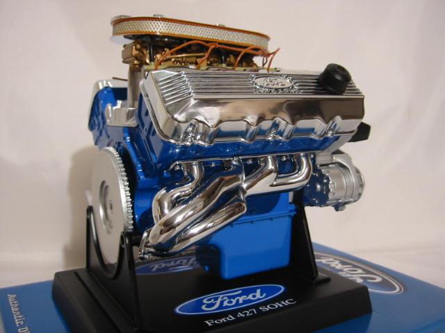 dragster motorblock ford 427 sohc v8 modell 1 6 neu engine. Black Bedroom Furniture Sets. Home Design Ideas