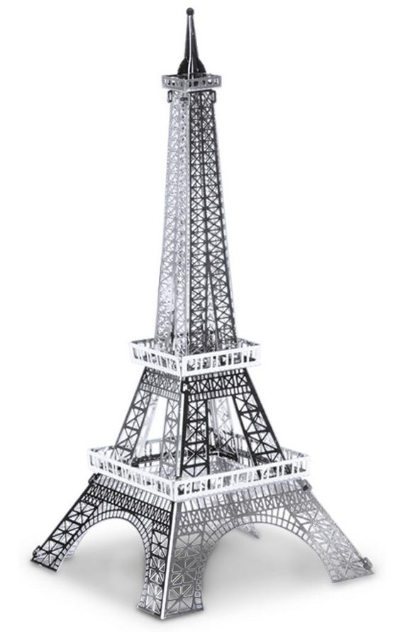 Eiffel tower xxl 52 cm 3d puzzle metal model laser cut for Eiffel tower model template