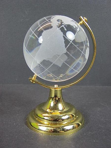 glas weltkugel globus 50 mm deko vollglas f r b ro. Black Bedroom Furniture Sets. Home Design Ideas