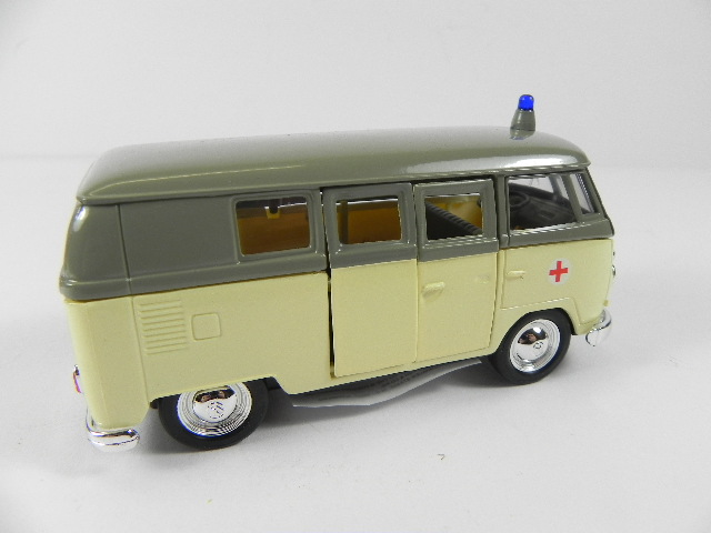 vw bus krankenwagen 1 38 modellauto welly ebay. Black Bedroom Furniture Sets. Home Design Ideas