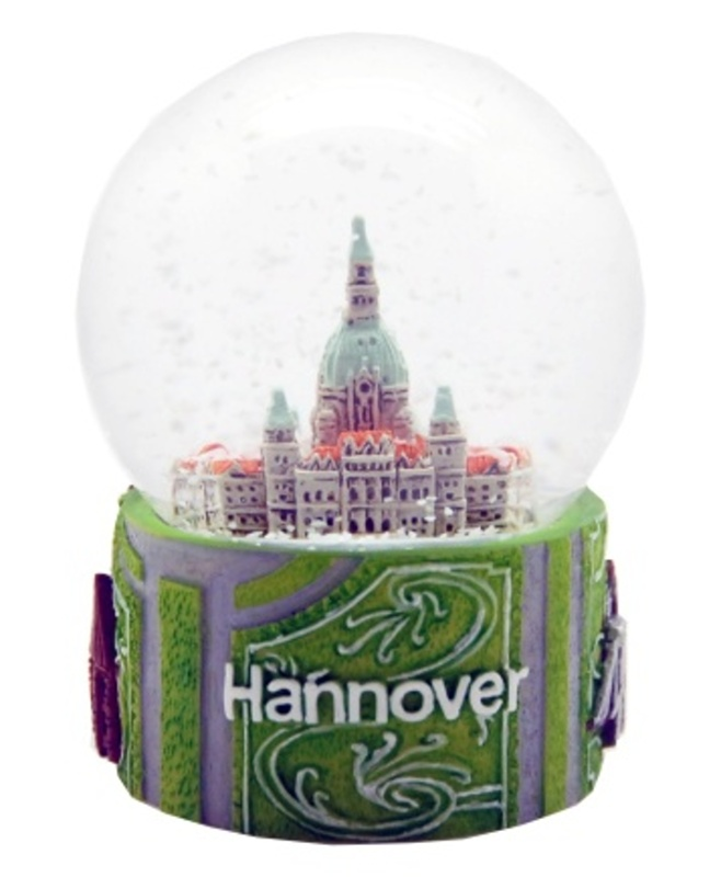 Schneekugel hannover rathaus marktkirche messe snowglobe for Hannover souvenirs