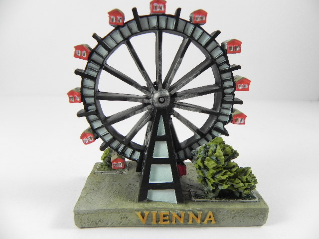 Wien Riesenrad Prater Poly Modell 10 Cm Souvenir Neu Ebay