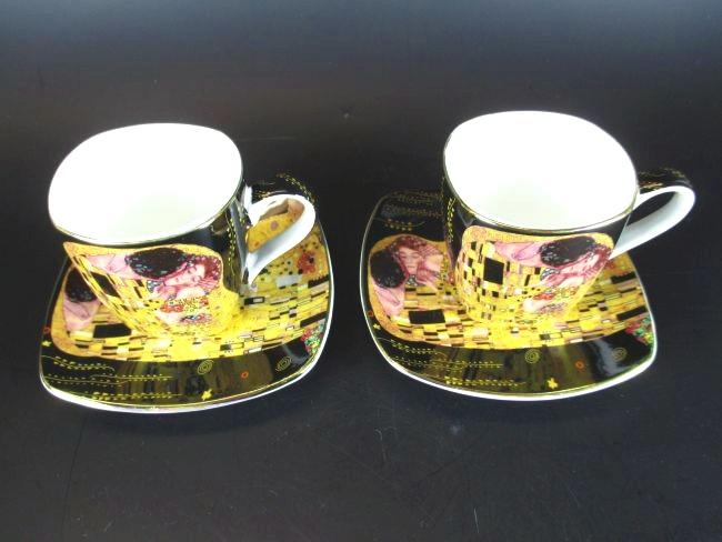 gustav klimt espresso tassen wien sterreich sch ne gift. Black Bedroom Furniture Sets. Home Design Ideas