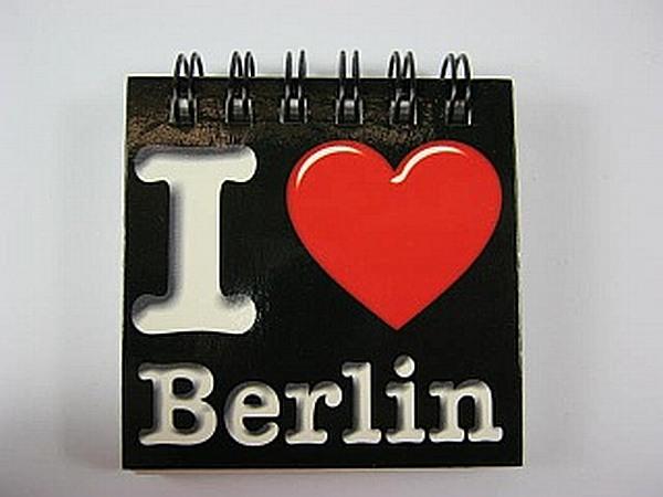 berlin germany magnet notizblock i love deutschland souvenir neu ebay. Black Bedroom Furniture Sets. Home Design Ideas