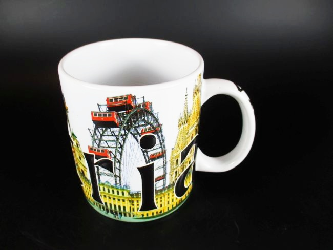 wien vienna relief kaffeetasse becher souvenir tasse sterreich austria 500 ml ebay. Black Bedroom Furniture Sets. Home Design Ideas