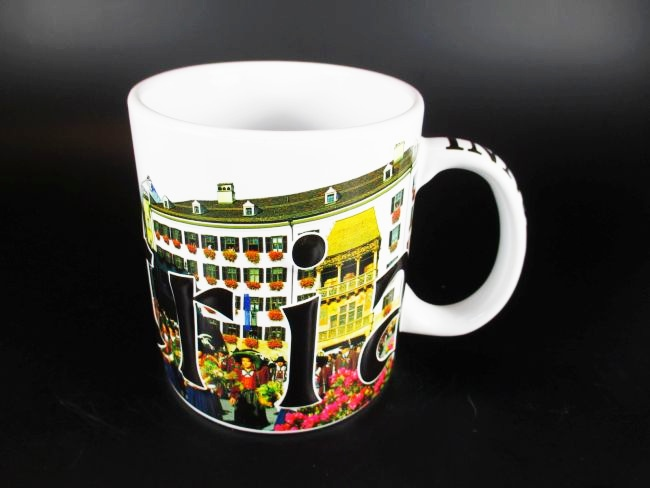 innsbruck relief kaffeetasse becher souvenir tasse sterreich austria 500 ml ebay. Black Bedroom Furniture Sets. Home Design Ideas