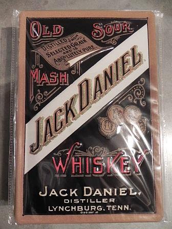Blechschild-Jack-Daniels-Whiskey-NEU-30-cm-fuer-Kneipe-Bar-Deko-Nostalgie