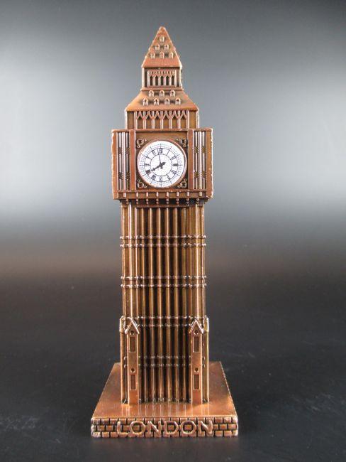 big ben london great britain metall souvenir red bronze reise modell neu ebay. Black Bedroom Furniture Sets. Home Design Ideas