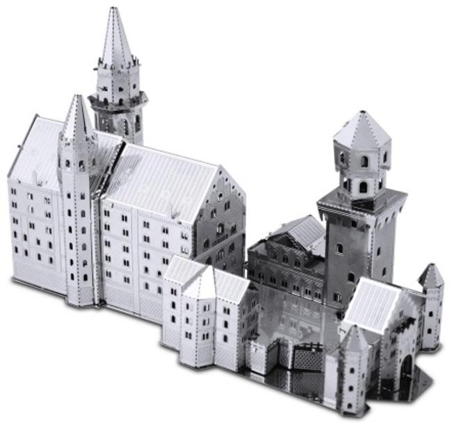 schloss neuschwanstein f ssen 3d puzzle metall modell. Black Bedroom Furniture Sets. Home Design Ideas