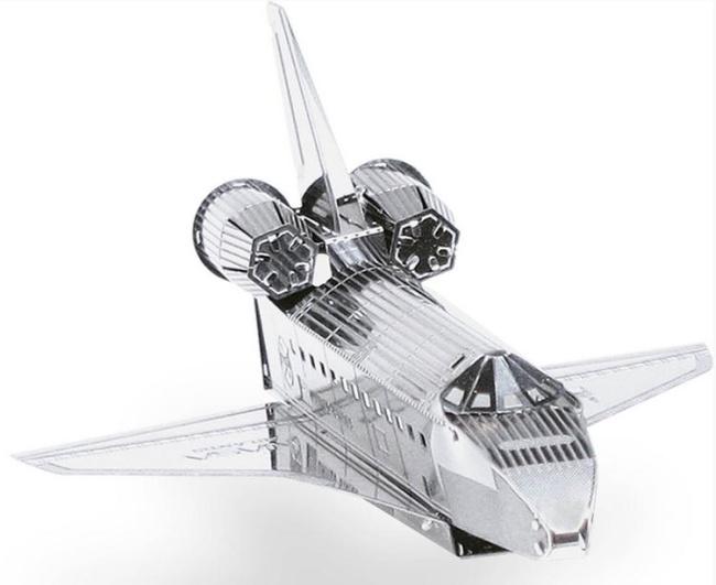 space shuttle atlantis 3d puzzle metall modell laser cut. Black Bedroom Furniture Sets. Home Design Ideas