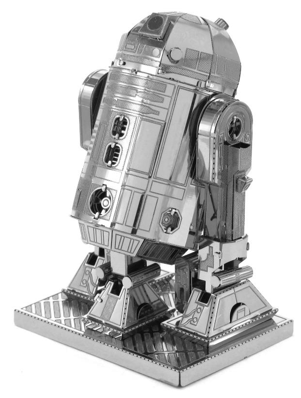star wars r2 d2 r2d2 3d metall puzzle modell laser cut bausatz neu ebay. Black Bedroom Furniture Sets. Home Design Ideas