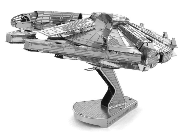 star wars millenium falcon 3d metall puzzle modell laser cut bausatz neu ebay. Black Bedroom Furniture Sets. Home Design Ideas