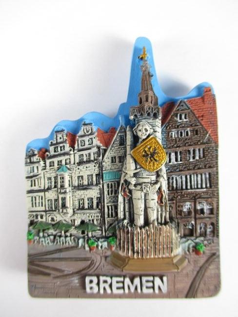 bremen roland figur poly reise magnet souvenir germany neu ebay. Black Bedroom Furniture Sets. Home Design Ideas