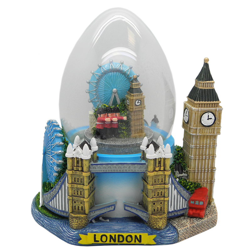 london gro e schneekugel big ben eye guards england snowglobe eiform ebay. Black Bedroom Furniture Sets. Home Design Ideas