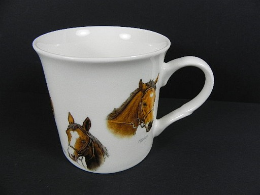 pferd kaffeetasse fine bone china porzellan kaffeebecher coffee mug 1 wahl ebay. Black Bedroom Furniture Sets. Home Design Ideas