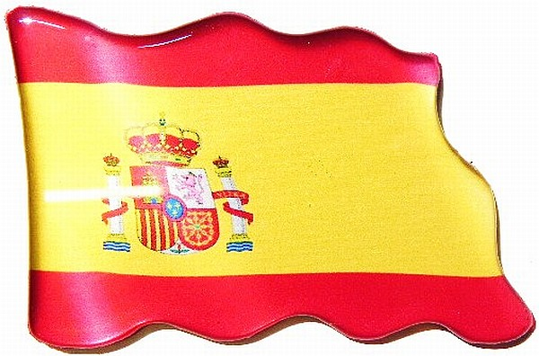 magnet spanien flagge fahne souvenir fridge neu ebay. Black Bedroom Furniture Sets. Home Design Ideas