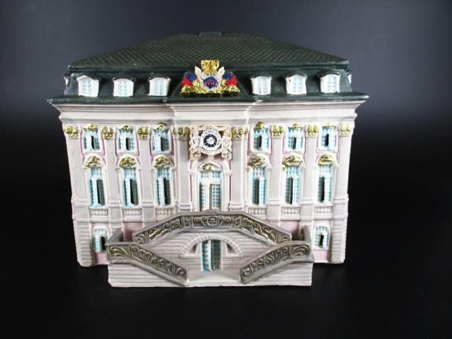 bonn rathaus lichthaus aus porzellan 20 cm souvenir germany neu. Black Bedroom Furniture Sets. Home Design Ideas