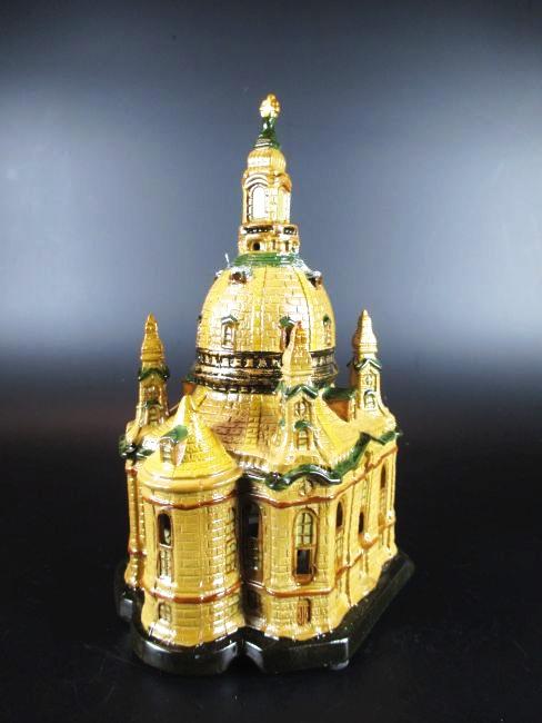 dresden frauenkirche lichthaus aus porzellan 20 cm souvenir germany neu ebay. Black Bedroom Furniture Sets. Home Design Ideas
