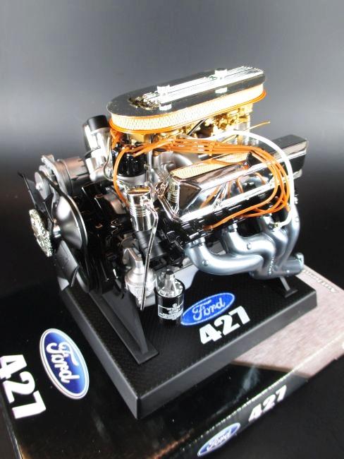ford 427 wedge engine motorblock v8 modell 1 6 neu motor. Black Bedroom Furniture Sets. Home Design Ideas