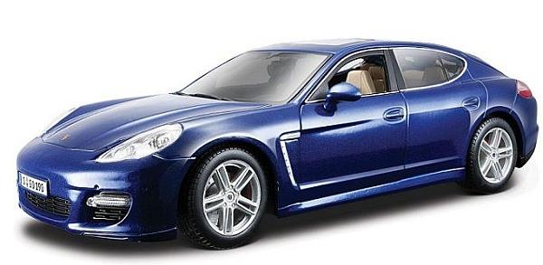 porsche panamera turbo blau 1 18 maisto modellauto diecast. Black Bedroom Furniture Sets. Home Design Ideas