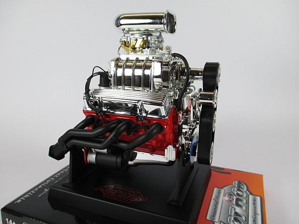 chevrolet chevy blown hot rod v8 modell 1 6 neu engine. Black Bedroom Furniture Sets. Home Design Ideas