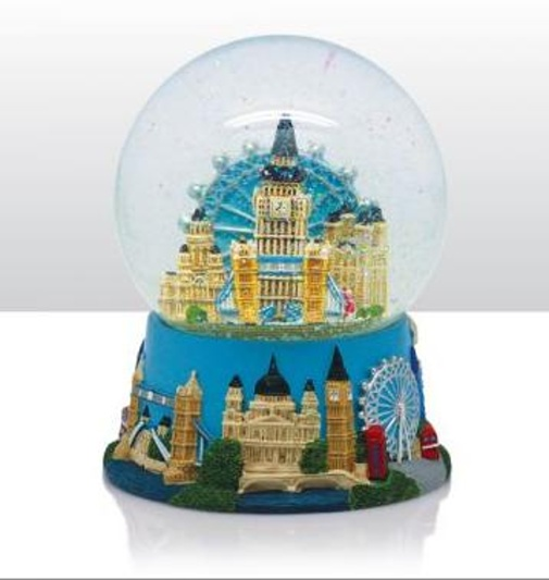 londres grande boule de neige big ben eye cossaise angleterre snowglobe ebay. Black Bedroom Furniture Sets. Home Design Ideas