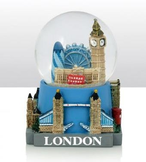 london schneekugel big ben eye buckingham palast gerkin england snowglobe ebay. Black Bedroom Furniture Sets. Home Design Ideas