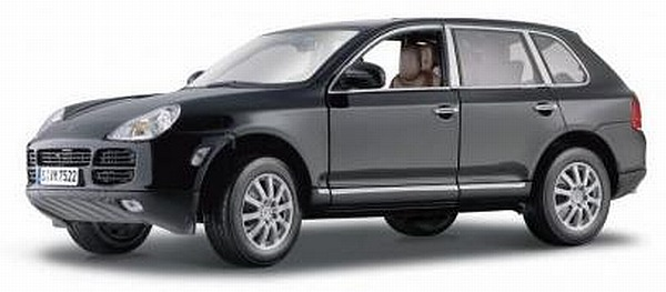 porsche cayenne schwarz 1 18 maisto modellauto diecast. Black Bedroom Furniture Sets. Home Design Ideas