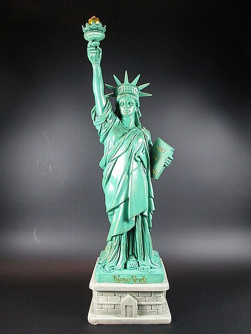 new york city freiheitsstatue statue of liberty 53 cm. Black Bedroom Furniture Sets. Home Design Ideas