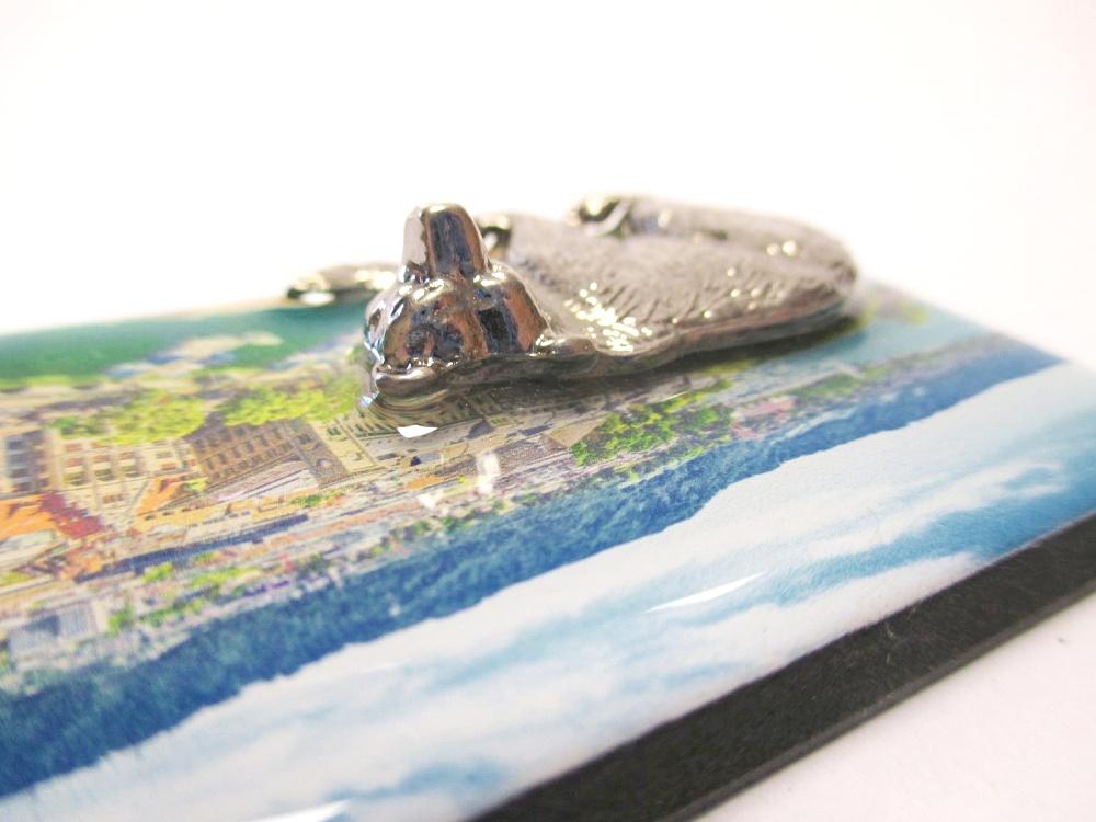 Zürich Bär Bear Magnet Epoxid Souvenir Schweiz 3D Ornament