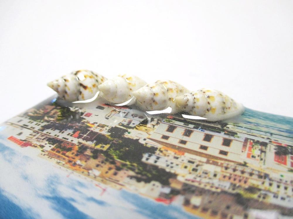 Ibiza Balearen Insel Magnet Epoxid Souvenir Spanien 3D Ornament
