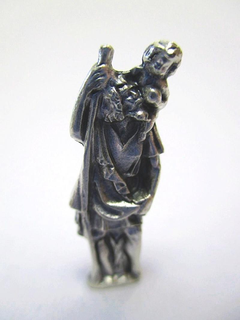 Llavero Christophorus patrona de automovilistas madonny lourdes