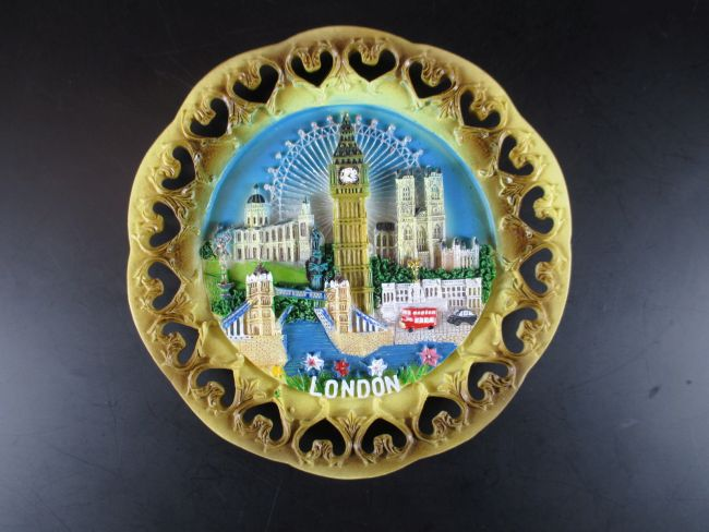 london souvenir teller 15 cm big ben tower bridge bus taxi world. Black Bedroom Furniture Sets. Home Design Ideas