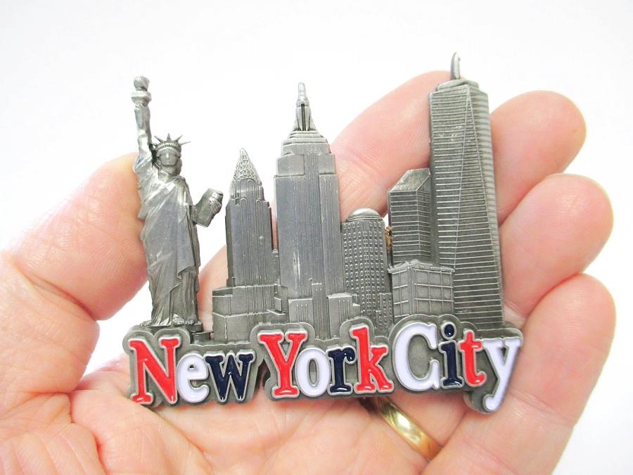 New York Metall Magnet World Trade Freedom Tower Liberty .. 51157
