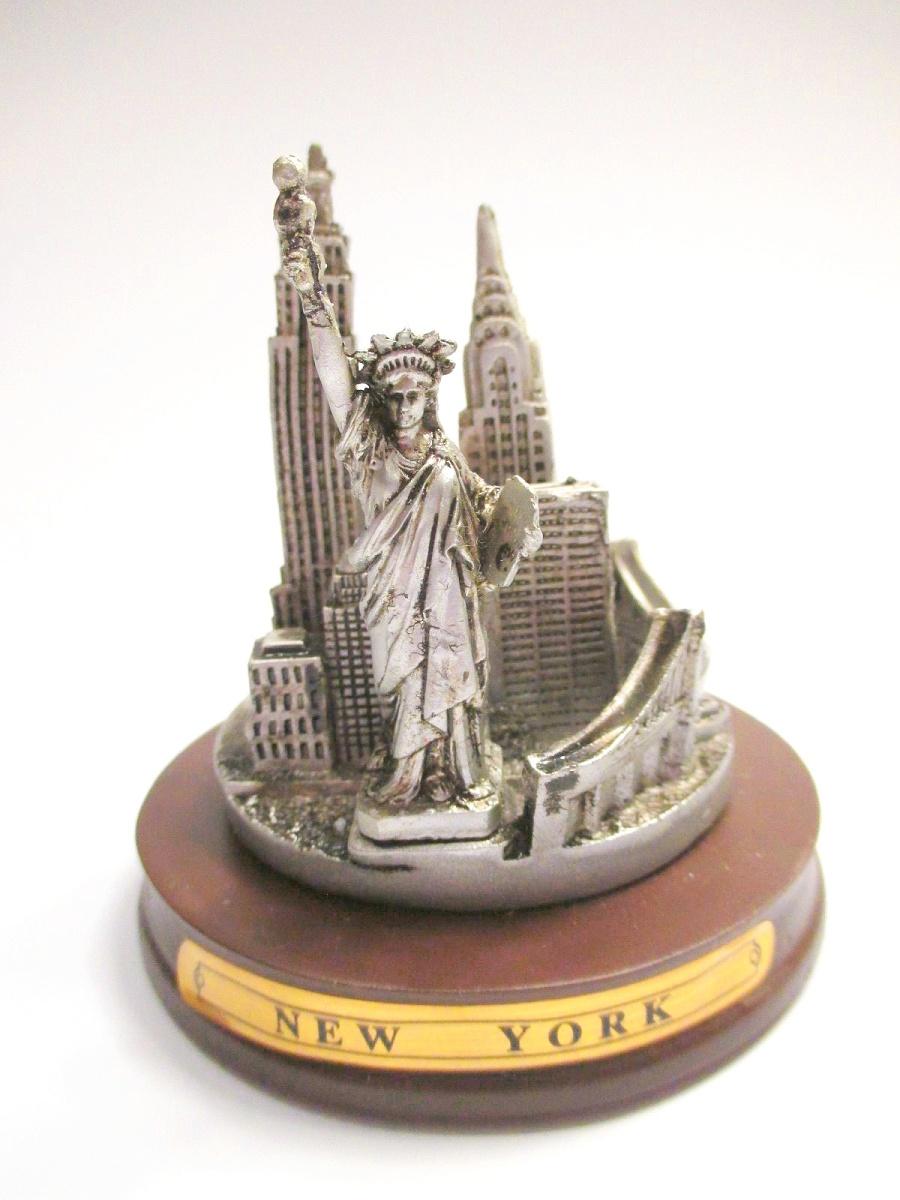 New York Poly Magnet Battery Park Manhattan Freiheitsstatue Souvenir