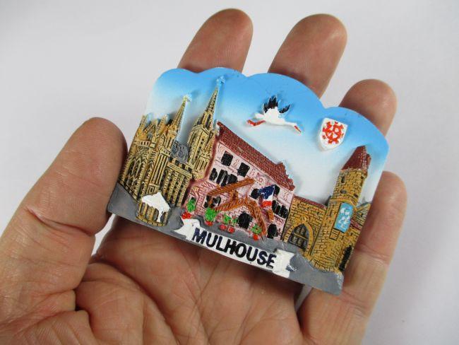 M lhausen mulhouse 3 d magnet polyresin souvenir germany for Magvet mulhouse