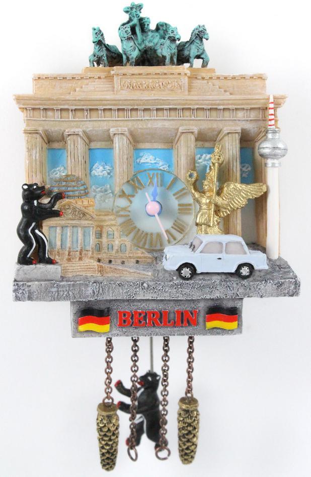 Berlin Laser Magnet  8 cm Souvenir Germany Checkpoint Charlie