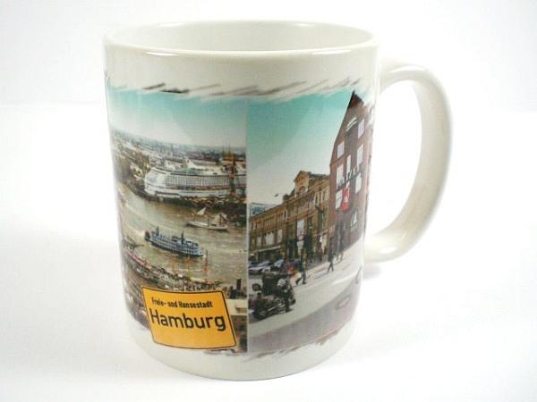 tasse hamburg hafen rathaus kaffeetasse stadt souvenir neu keramik world. Black Bedroom Furniture Sets. Home Design Ideas