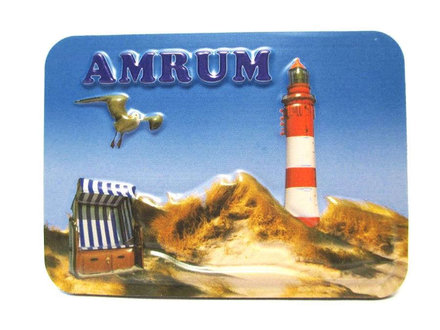 Augsburg Relief 3D Optik unebener Magnet Germany Souvenir 9 cm