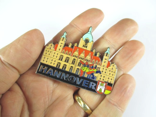 Hannover metall magnet germany deutschland souvenir neu ebay for Hannover souvenirs